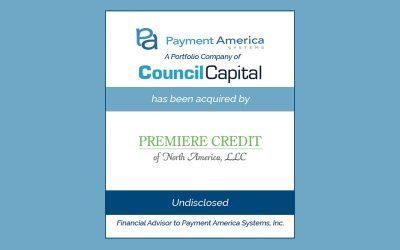 Premiere Credit of North America Acquires Payment America Systems