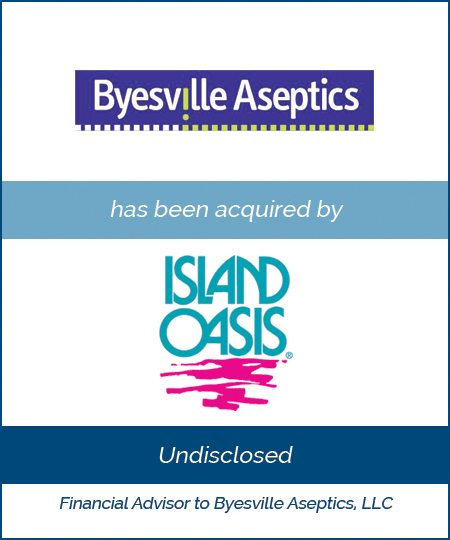 Island Oasis Acquires Byesville