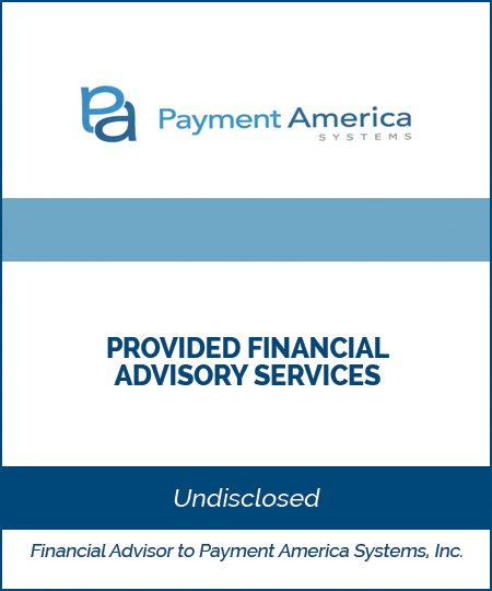 Payment America Systems – Financial Advisory