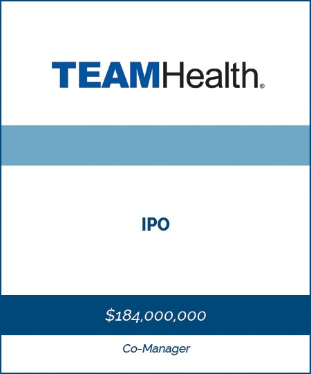TeamHealth – IPO*