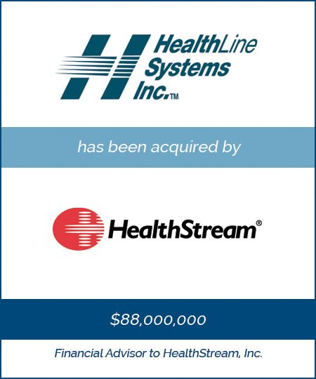 HealthStream Acquires HealthLine Systems
