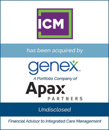 Genex Services, a Portfolio Company of Apax Partners Acquires Integrated Care Management