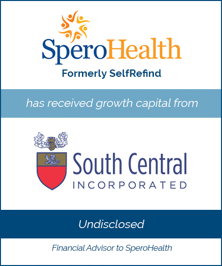SperoHealth (Formerly SelfRefind) – Equity Private Placement*