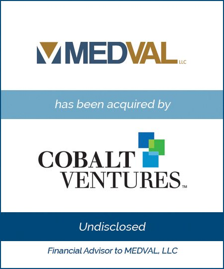 Cobalt Ventures Acquires MEDVAL