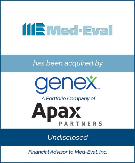 Genex Services, a Portfolio Company of Apax Partners Acquires Med-Eval