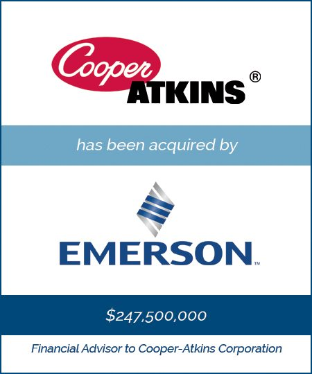 Cooper Atkins has been acquired by Emerson