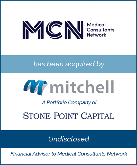 Medical Consultants Network has been acquired by Mitchell International
