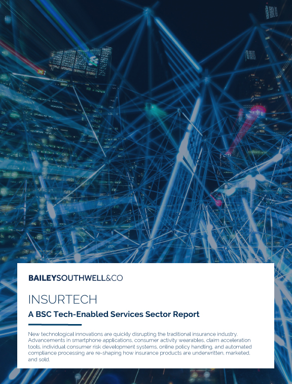 InsurTech - A BSC Tech-Enabled Services Sector Report
