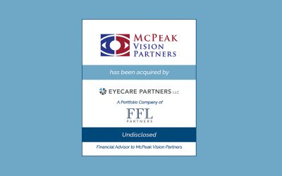 Bailey Southwell & Co. Represents McPeak Vision Partners in its Sale to EyeCare Partners