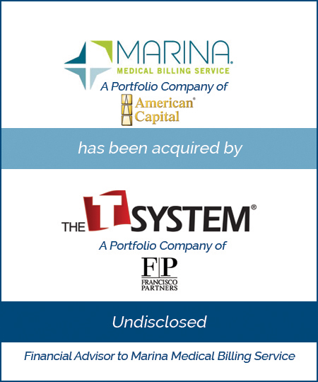 Marina Medical Billing Service has been acquired by T-System