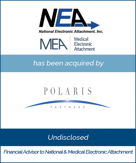 National & Medical Electronic Attachment Inc. has been acquired by Polaris Partners