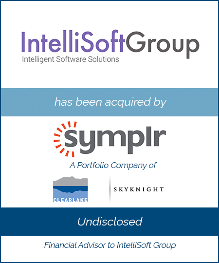 IntelliSoft has been acquired by smplyr