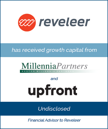 Reveleer has Received Growth Capital from Boston Millennia Partners and Upfront Ventures