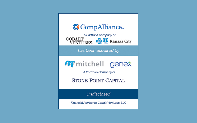 Bailey Southwell & Co. Advises Cobalt Ventures in its Sale of CompAlliance to Mitchell | Genex
