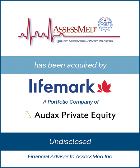 AssessMed has been Acquired by Lifemark Health Group