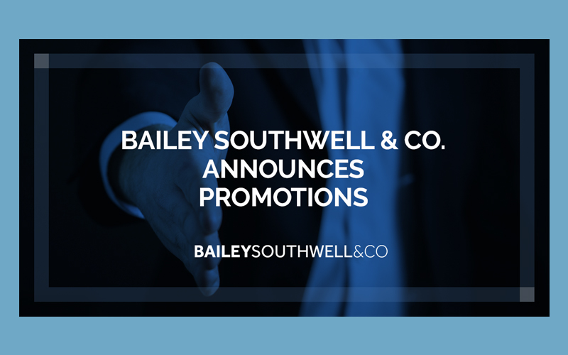 Bailey Southwell Announces 2020 Promotions