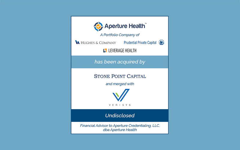 Bailey Southwell & Co. Advises Aperture Health in its Sale to Stone Point Capital