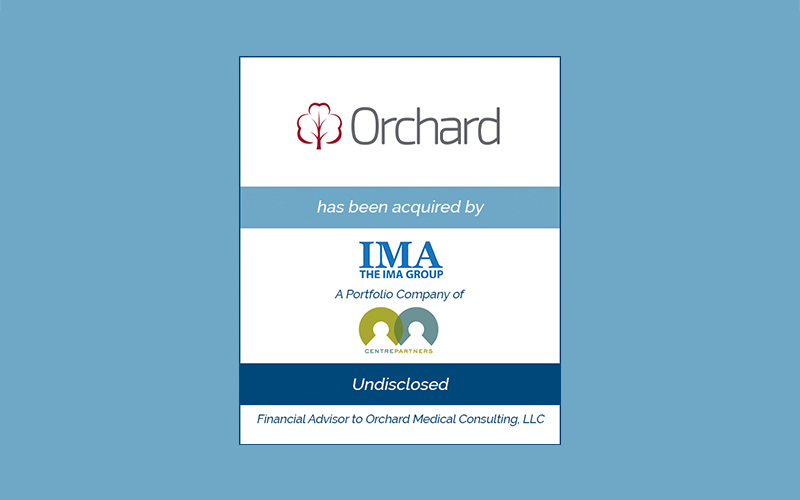 Bailey Southwell & Co. Advises Orchard Medical Consulting in its Sale to The IMA Group