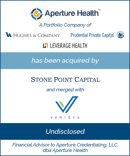 Aperture Health has been Acquired By Stone Point Capital