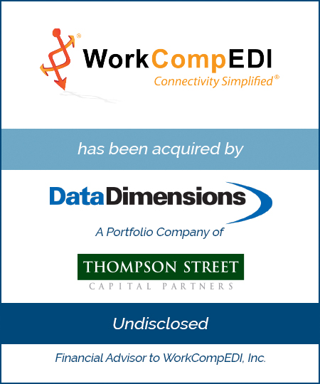 Bailey Southwell & Co. Advises WorkCompEDI® in its Sale to Data Dimensions
